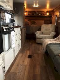 90 RV Living Camper Remodel Interior Design Ideas