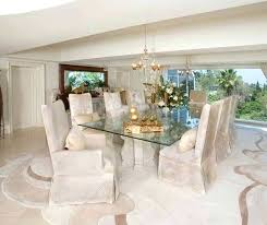 Dining Glass Table Sets Room Elegant Decor