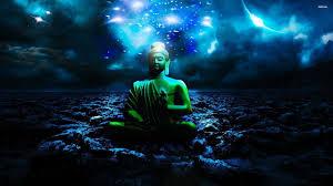Buddha Statue Digital Art HD Desktop Wallpaper