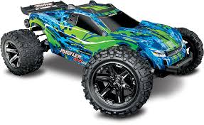100 Rc Model Trucks Traxxas Rustler 4X4 VXL RC Stadium Truck