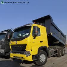 100 Ton Truck 35 Howo A7 8 X 4 Pertambangan Dump Dump Untuk Dijual
