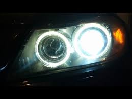 2007 bmw 335xi e90 headlight and eye bulb change