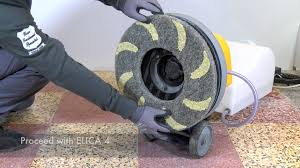 Terrazzo Floor Cleaning Company by Terrazzo Polishing With Elica Diamond Floor Pads By Klindex