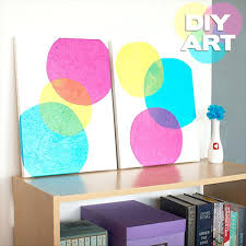 Wall Decoration Ideas With Paper Tissue Art Step By