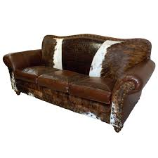 Western Leather Furniture Cowboy Furnishings From Lones Star Decor