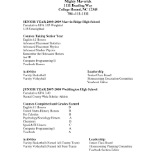 Resume Template For High School Senior Cute Boston College Examples Inspirational Awesome Highschool