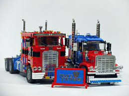 Two Optimus Prime | Legos, Lego Stuff And Lego Truck