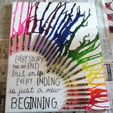 Cute Crayon Art With A Quote Hanging This In My Room U Could Use Any