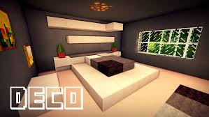 minecraft creer une chambre moderne