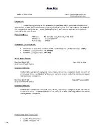 Investment Banking Resume Template Banker Download