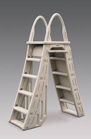 Above Ground Pool Ladder Deck Attachment by Above Ground Swimming Pool Ladders Steps And Accessories Bargain