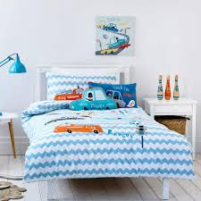100 Fire Truck Bedding Amazoncom Auvo Kids Set Applique Embroidered