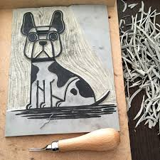 Lino Printing Process Chris Madden