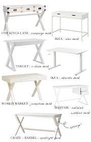 World Market Josephine Desk Green by Best Of White Desks U2014 Lauren Louise Design