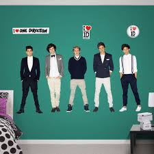 Fathead Princess Wall Decor by One Direction Wall Sticker Collection Has Arrived At Fathead My