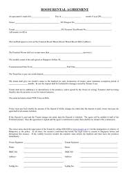 Simple Rent Agreement Format India Resume Examples Rental Tem