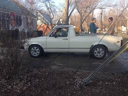 VWVortex.com - First Mk1! 81 Rabbit Truck Diesel LX. Intro/Questions.