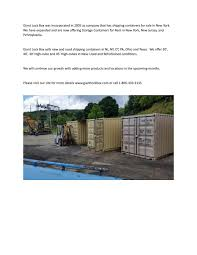 100 Shipping Containers For Sale New York Giant Lock Box Storage In NY By GiantLockBox Issuu