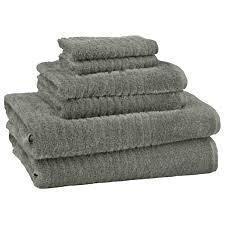 cambridge ultra dry 6 piece towel set sandpiper gray greydock com