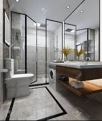 3d Rendering Luxury Modern Design Bathroom And Toilet Stock Photo ... 25 Best Modern Bathrooms Luxe Bathroom Ideas With Design Gray For Relaxing Days And Interior Bao 3d Rendering Luxury Toilet Stock Sophisticated For A Marble 14 Modernstyle 33 Terrific Small Master 2019 Photos Farmhouse Alton Kichler Lighting Tiles Doors Without Images 26 Doable Victorian Plumbing 8 Contemporary Contemporary Bathrooms Modern Bathroom Ideas