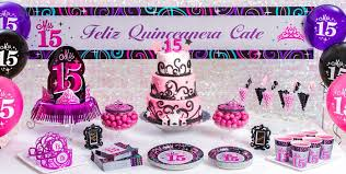 Mis Quince Quinceanera Party Supplies