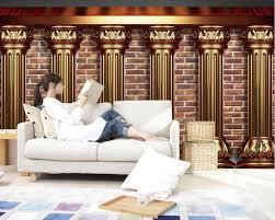 3d wallpaper tv hintergrundbild das wohnzimmer sofa hintergrund mural europa stil marmor säule