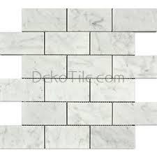 deko tile shop by finish honed 2 x 4 honed italian bianco