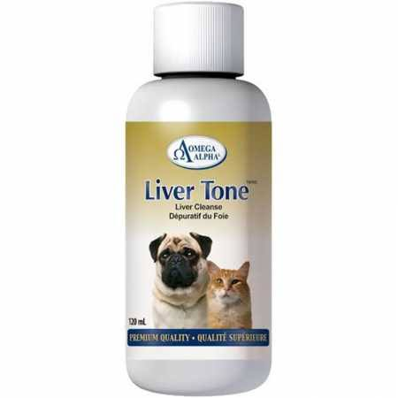 Omega Alpha Livertone Pet Supplement - 100ml