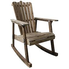 Wooden Outdoor Rocking Chairs Furniture Chair Wood 4 Colors Country