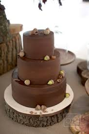 Fall Owls In Love Wedding Cake Topper Rustic Chocolate Mustard Mocha And Eggplant