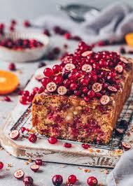 cranberry kuchen mit johannisbeeren