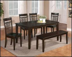 Great Dining Table Bench Seat Set And With Kitchen