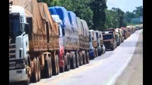 100 Truck Strike BREAKING NEWS PROPHECY COMING TO AMERIKKKA MASSIVE TRUCK STRIKE IN