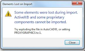 Autodesk Seek Revit Families by Revit Error File Could Not Be Imported Because Of Problems In