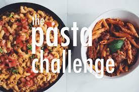 cuisine pasta the pasta challenge for food