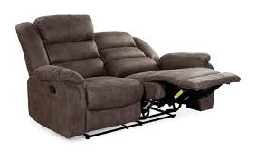 sofa cleveland 2 in vintage grau braun