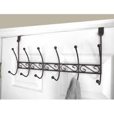 6 Hook Over The Door Coat Rack