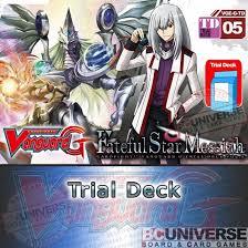 Vanguard Trial Deck 1 by Bc Universe G Td05 Fateful Star Messiah Cardfight Vanguard G