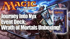 Guttersnipe Young Pyromancer Deck by Journey Into Nyx Event Deck Wrath Of Mortals Youtube