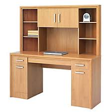 Officemax Corner Desk With Hutch by Office Depot Brand State Street Corner Desk With Hutch 62 38 H X