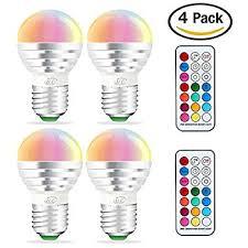 kobra led bulb color changing light bulb with remote 2