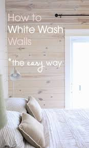 Look 2 White Wash Wall