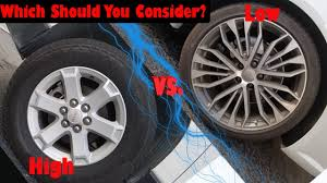 High Profile Tires Vs. Low Profile Tires | Did You Know? Segment ...