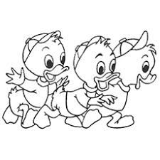 Duck Tales Enjoying The Rain Coloring Pages