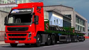 100 Euro Truck Sim Mods 130 Ulator 2 Volvo FM Classic AU44 Edit Mjtemdark