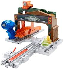 Trackmaster Tidmouth Sheds Playset by Amazon Com Fisher Price Thomas U0026 Friends Trackmaster Steamworks