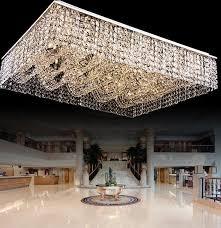 new flush mount living room light rectangular chandelier