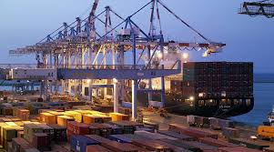 A Ship And Containers Are Part Of The Ashley Furniture Industries Manufacturing Supply Chain