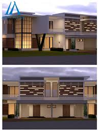 Modern House Fronts by Awe Inspiring Modern House Front Elevation 3d Design By Team