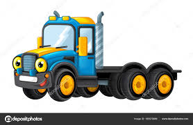 Cartoon Happy And Funny Truck — Stock Photo © Illustrator_hft #165579986
